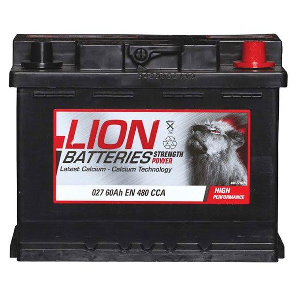 LION CAR BATTERY 027