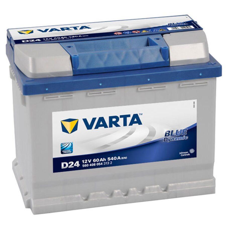 VARTA BLUE CAR BATTERY