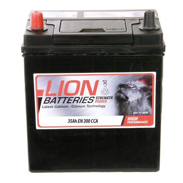 LION CAR BATTERY 055