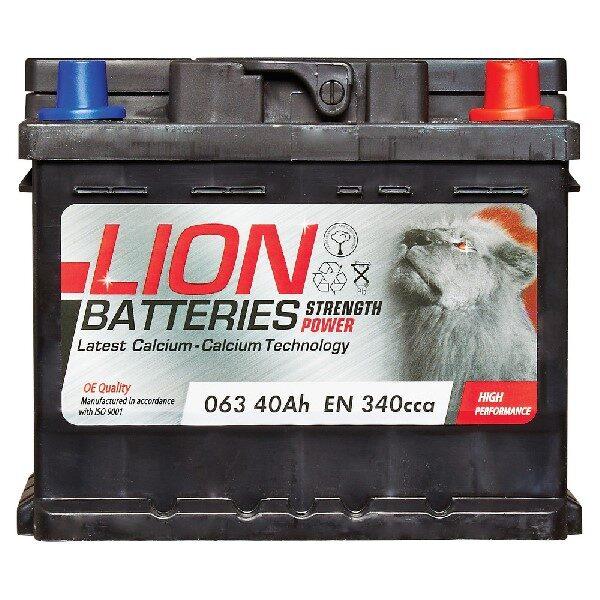 LION CAR BATTERY 063