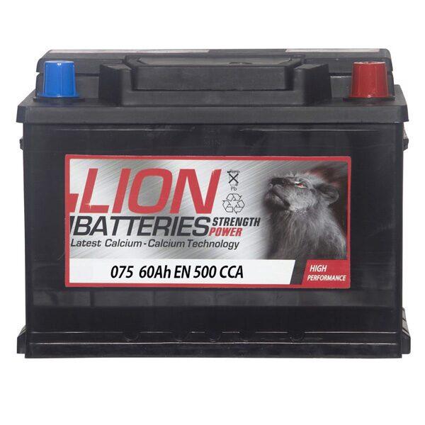 LION 075 CAR BATTERY