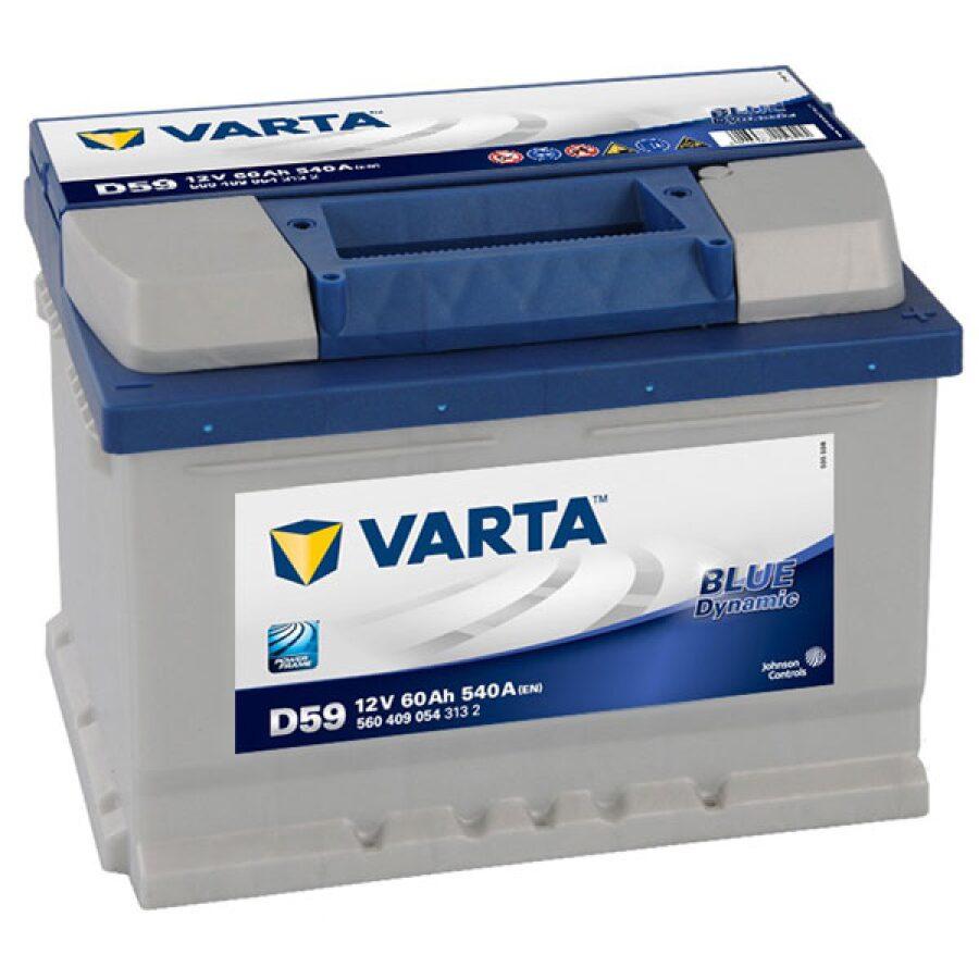 VARTA BLUE 075 CAR BATTERY
