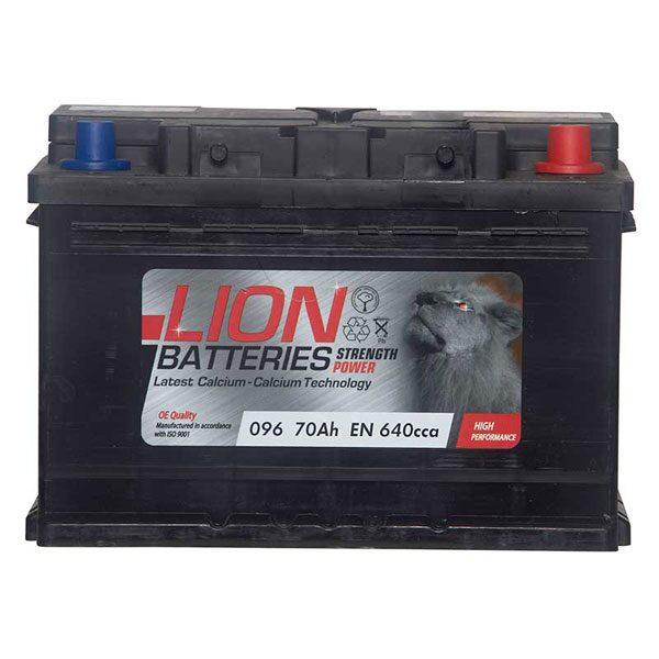 LION CAR BATTERY 096