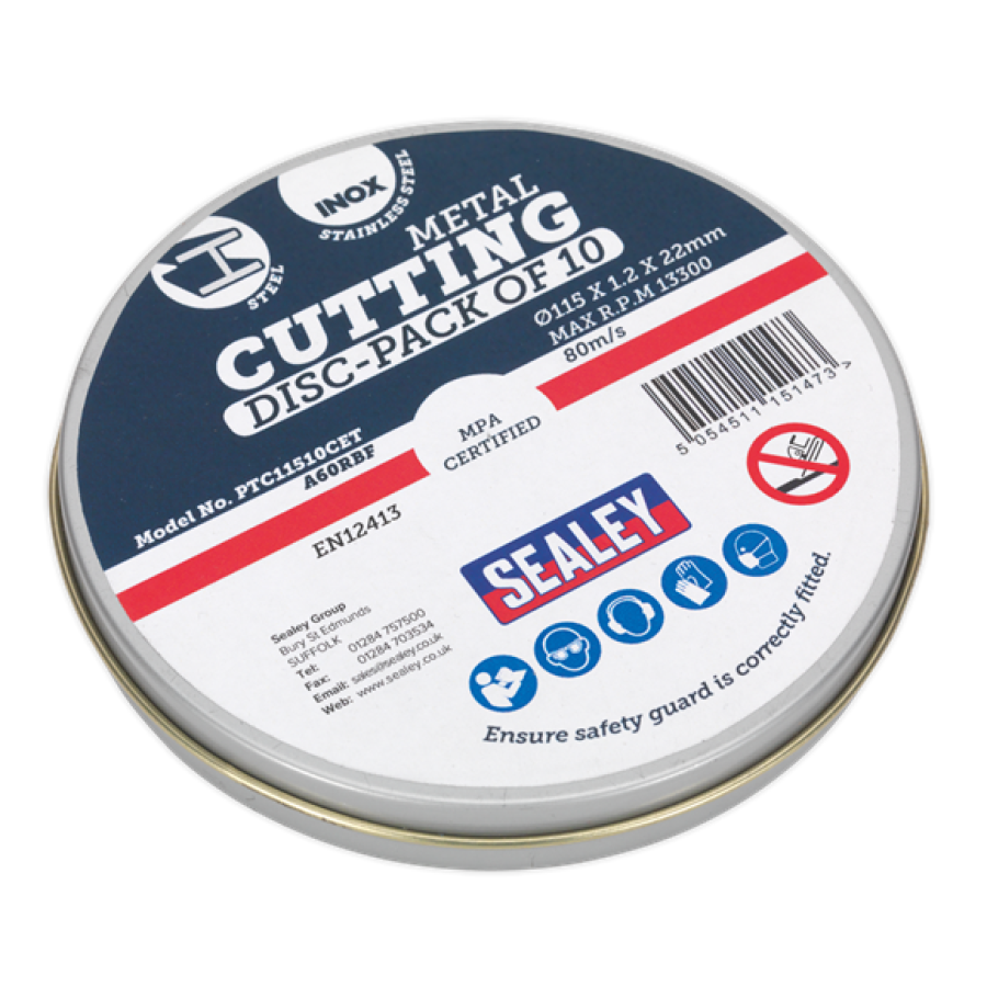 CUTTING DISC PACK OF 10